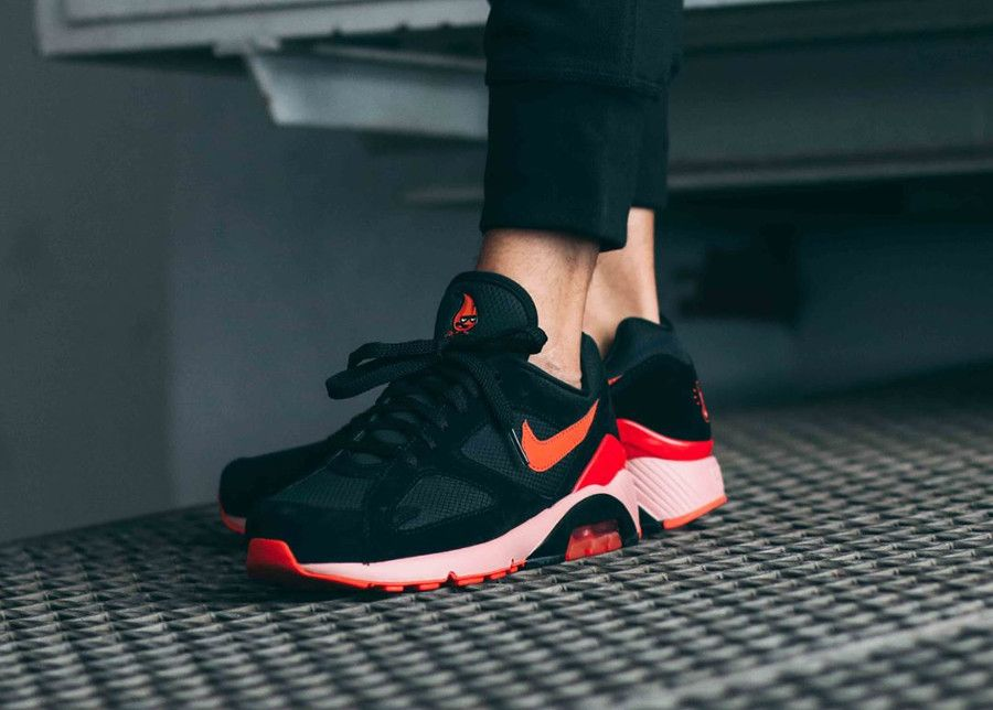 on sale 94e63 04902 Nike Air Max 180 'Fire' | SHOES *-* in 2019 | Air max 180, Nike air ...