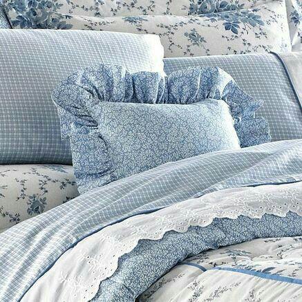 Blue Bedroom Decor, Laura Ashley Bluebirds Bedding