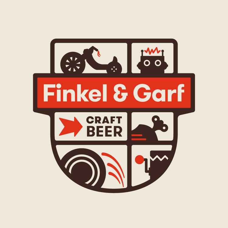 Beer & Branding Finkel & Garf Graphic design branding