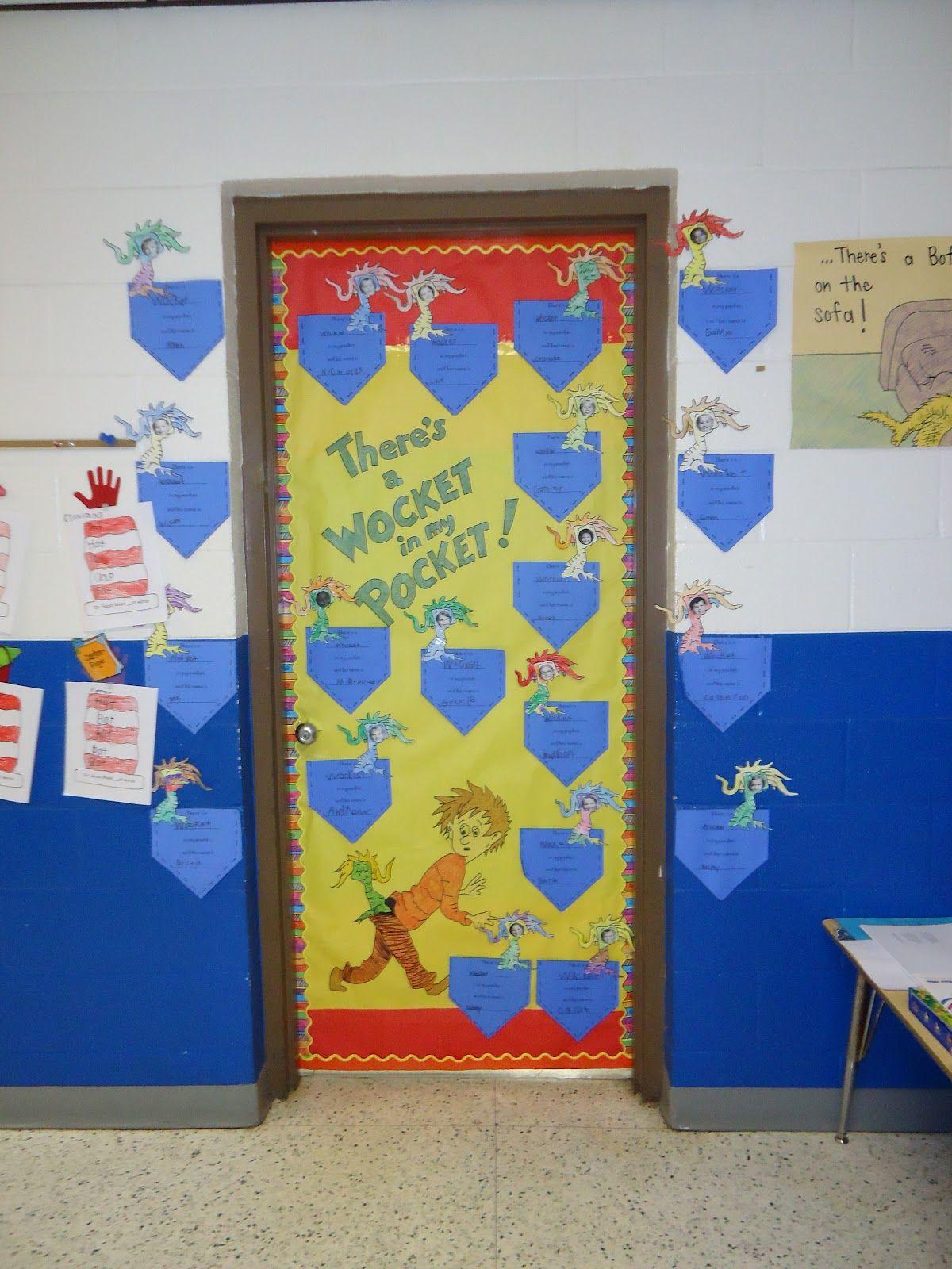 Dr Seuss Classroom Decorations