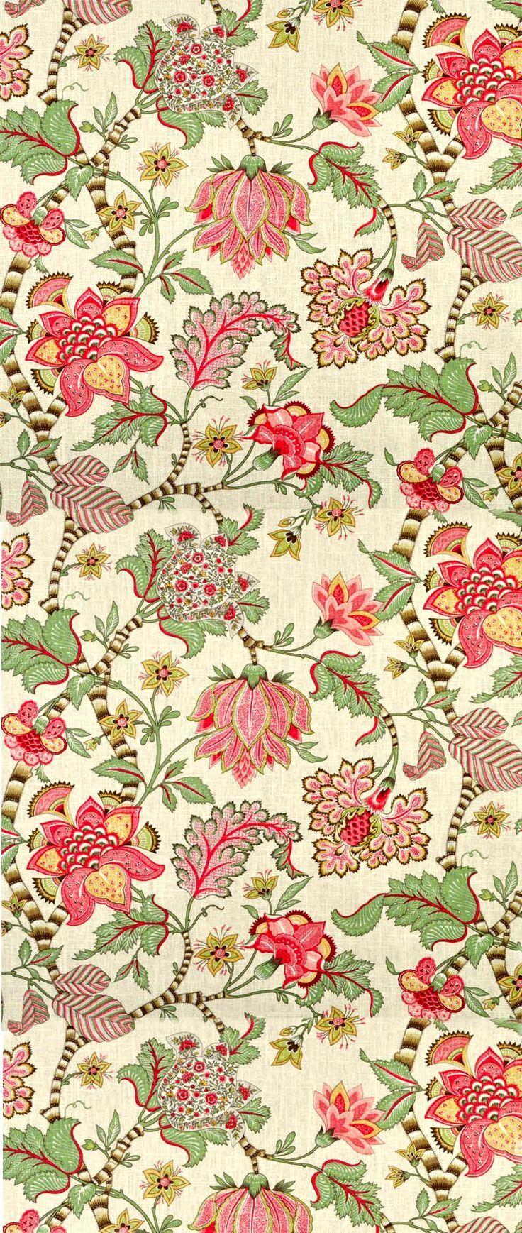 Manufacture Francaise Des Textiles D Ameublement 213 best chintz images | chintz fabric, printing on fabric