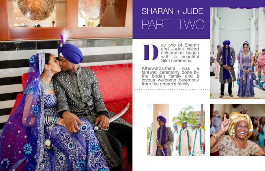 Indian-Nigerian Wedding in Jamaica. Part 2