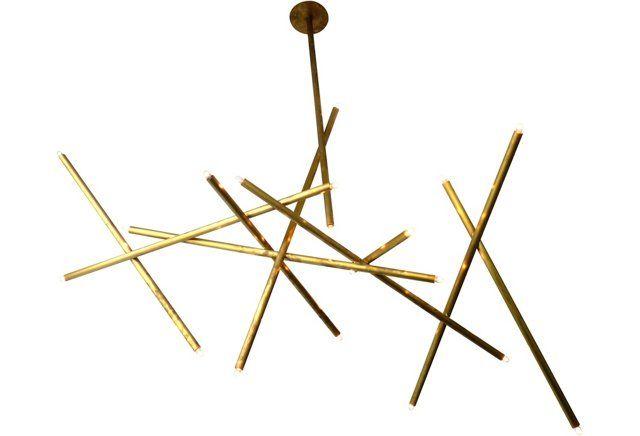 Pick up sticks chandelier i lighting pinterest chandeliers pick up sticks chandelier i aloadofball Gallery