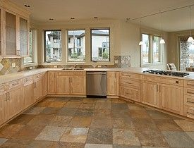Kitchen Tile Flooring Ideas Glamorous Kitchen Floor Tile Ideas  Articles  Networx  Eclectic Decor . Decorating Inspiration
