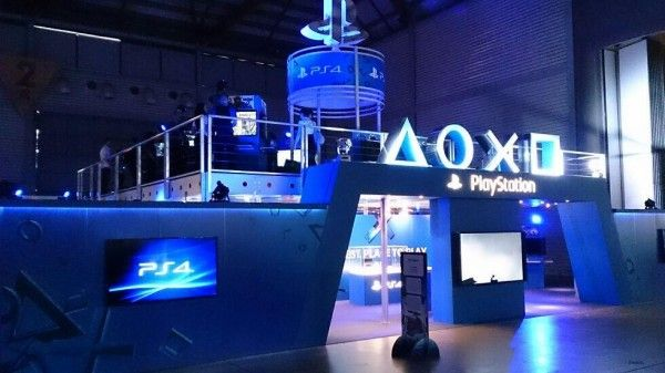 Expo Exhibition Stands Xbox One : Pin by ko pijung on exhibition design game expo playstation
