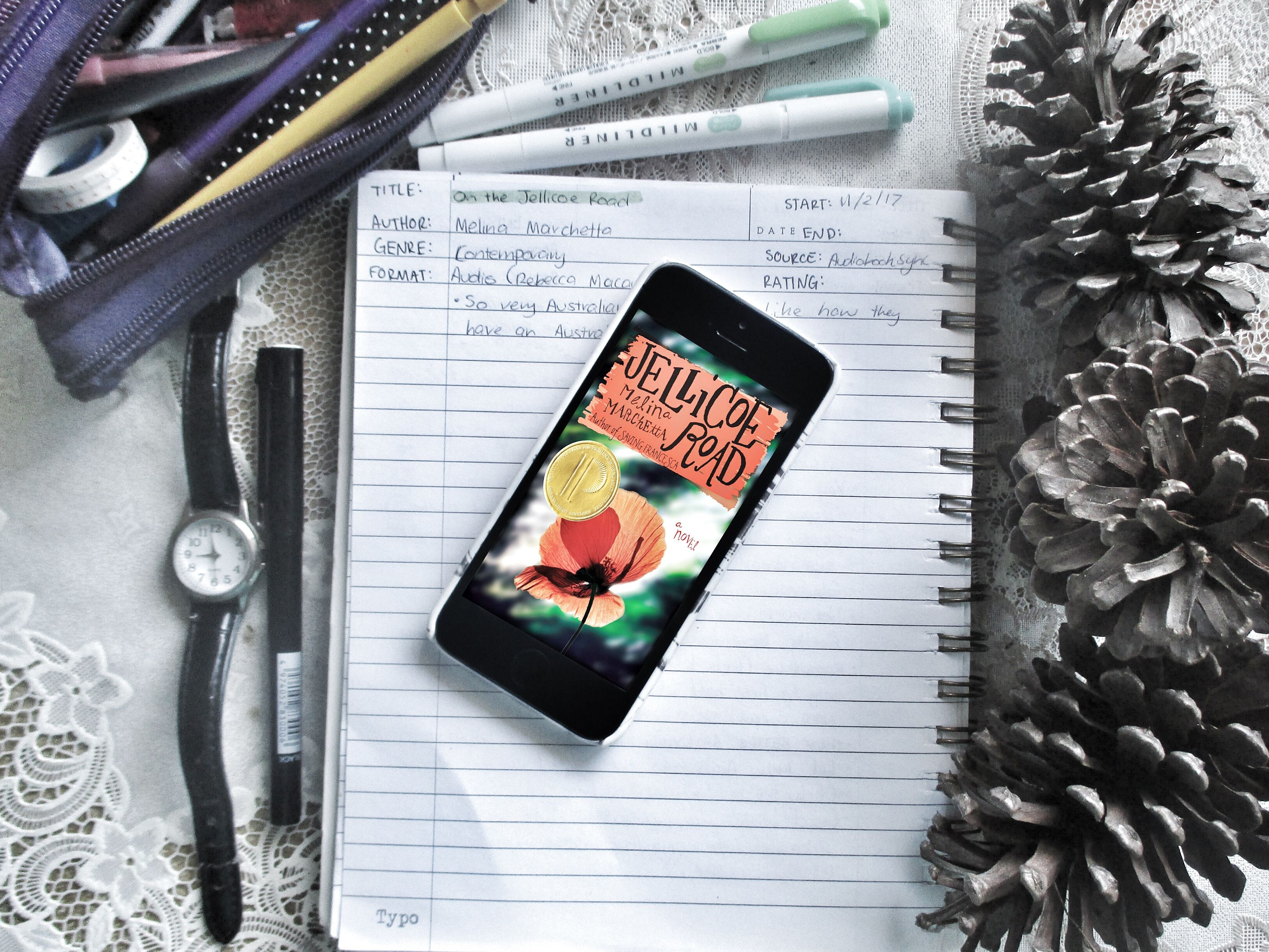 5 Things About On the Jellicoe Road by Melina Marchetta