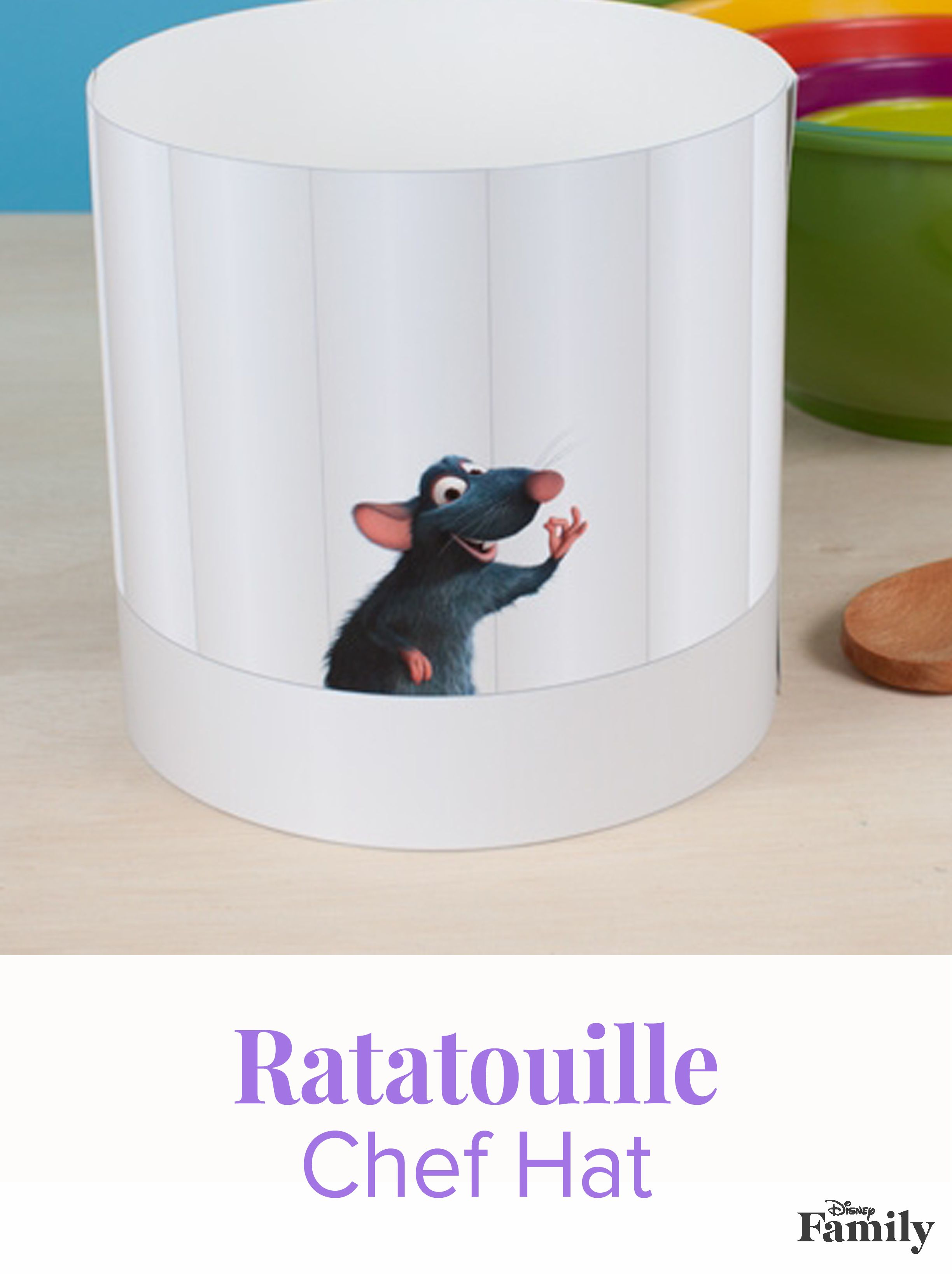 Ratatouille Chef Hat Disney Family Disney Diy Disney Crafts For Kids Disney Crafts