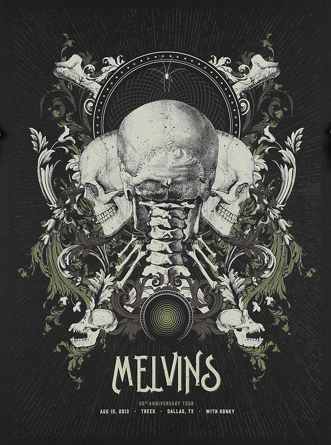 Melvins - Anonymous Ink & Idea - 2013 ----