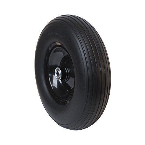 Aleko Wbnf13 Flat Free Replacement Wheels For Wheelbarrow 13 Inch