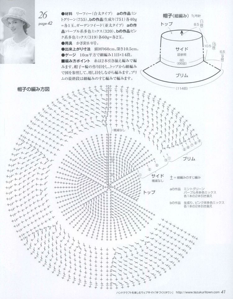 Lets Knit Series № 80399 2014 - 轻描淡写 - 轻描淡写 | шапки шляпки ...