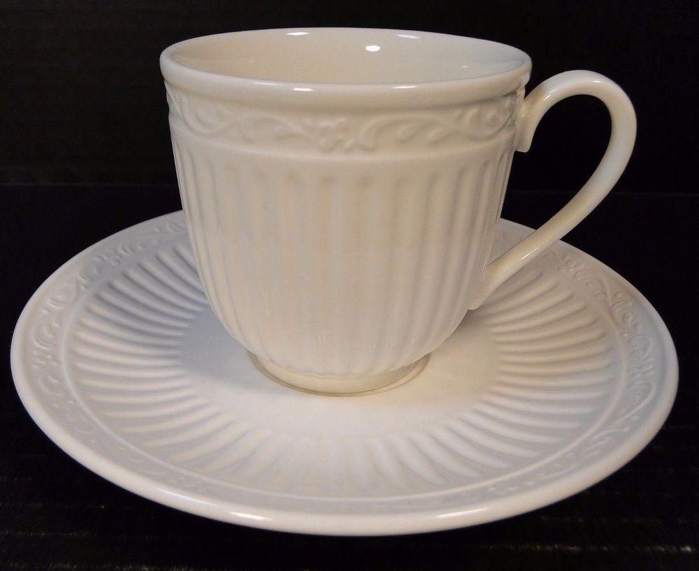 Mikasa Italian Countryside Tea Cup Mug Saucer Set Dd900 Mint Ebay
