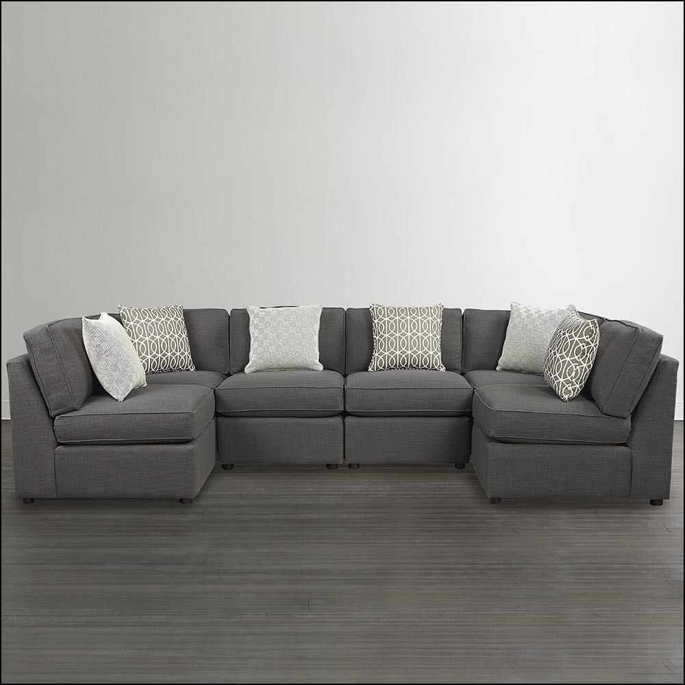 small u shaped sectional sofa u