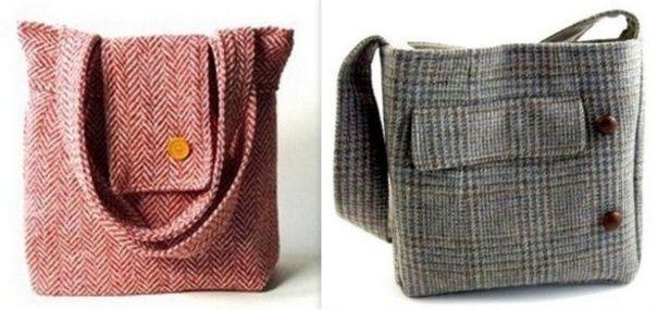 recycler ses habits pour en faire des sacs tuto sacs et pochettes recycling bags et diy. Black Bedroom Furniture Sets. Home Design Ideas
