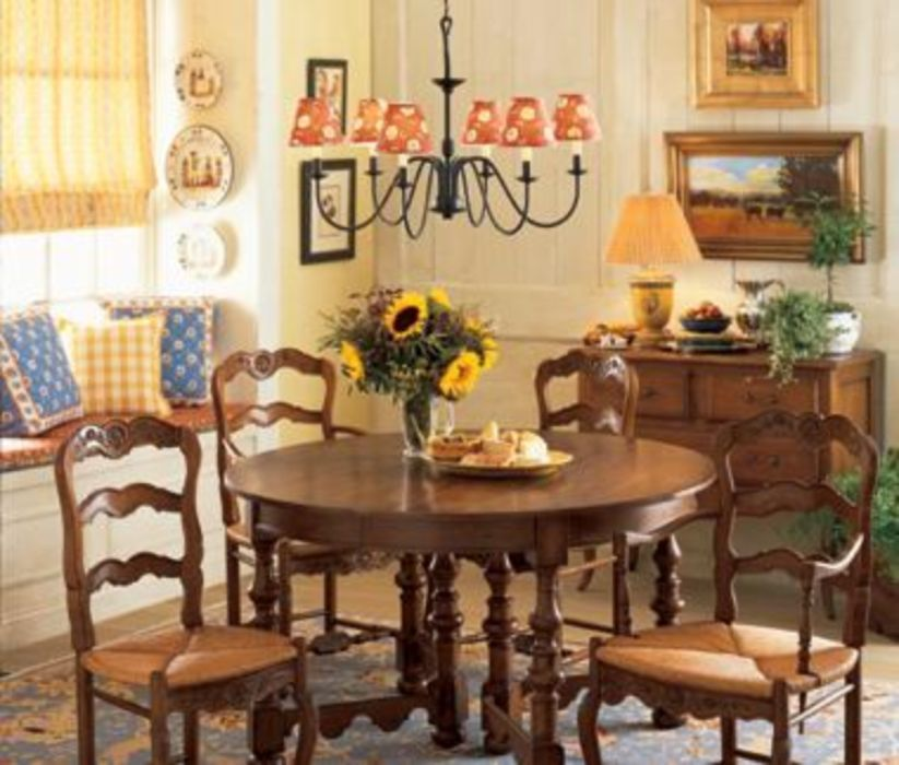 25 Awesome Traditional Dining Design Ideas: Charming And Beautiful Provence Dining Spaces 25