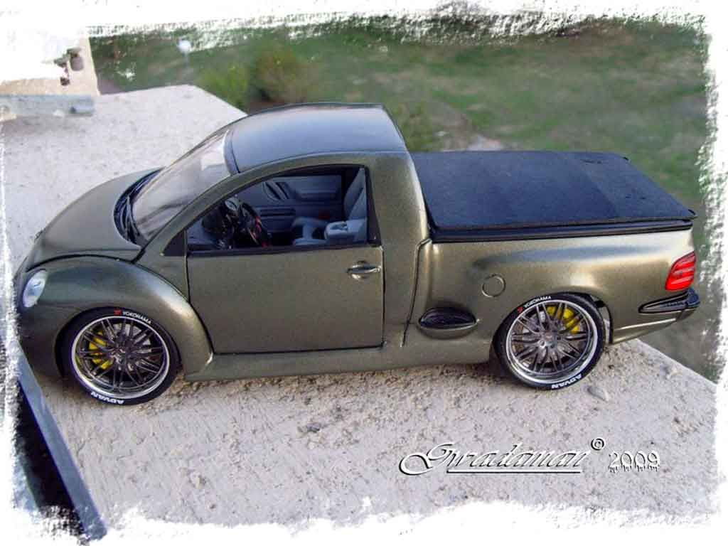 volkswagen new beetle pick up burago diecast model car 1 18 buy sell diecast car on alldiecast. Black Bedroom Furniture Sets. Home Design Ideas