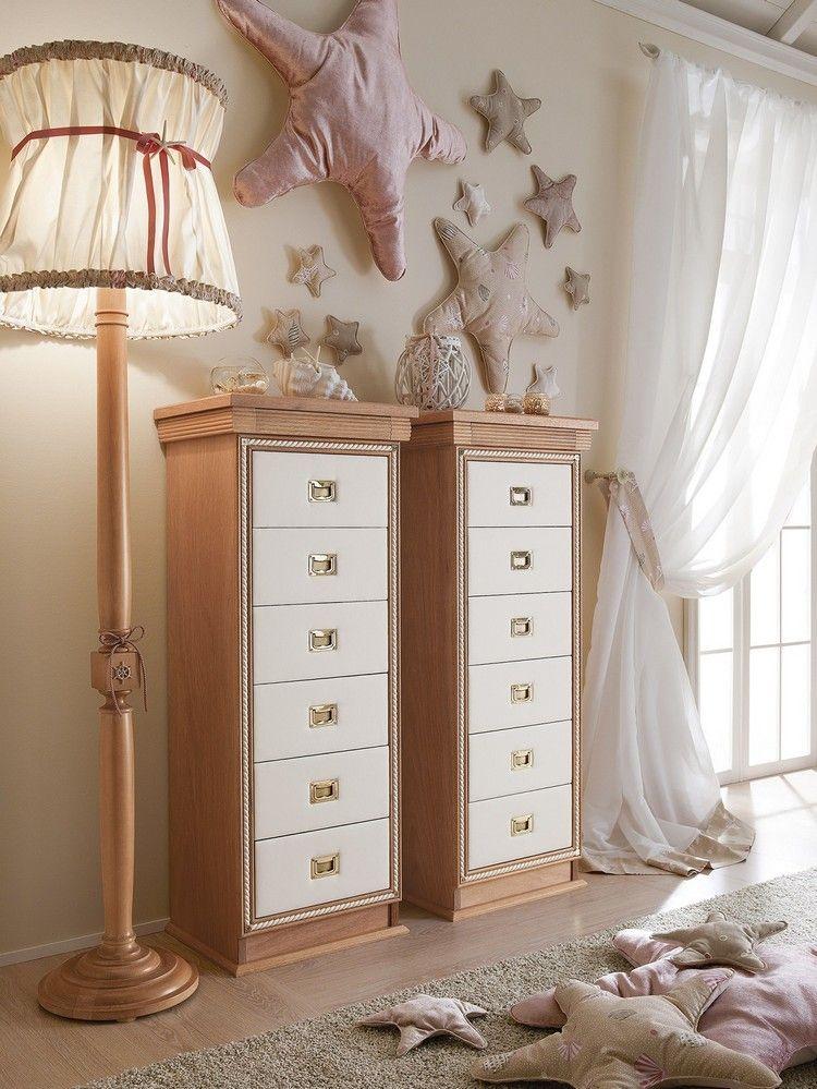 Schlafzimmer Kommoden Cordage von Caroti mit maritimem Design