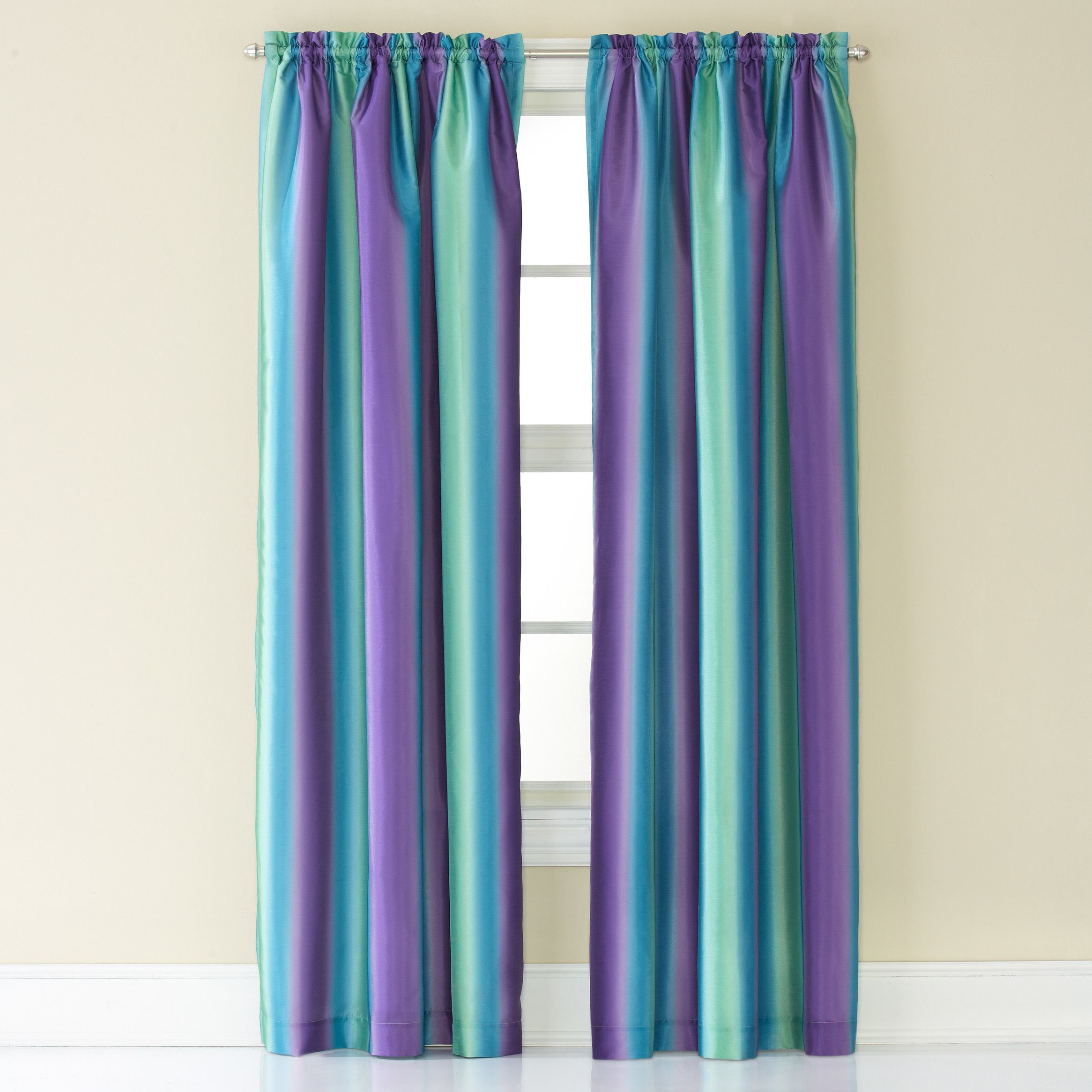 CHF Rainbow Ombre Curtain Panel
