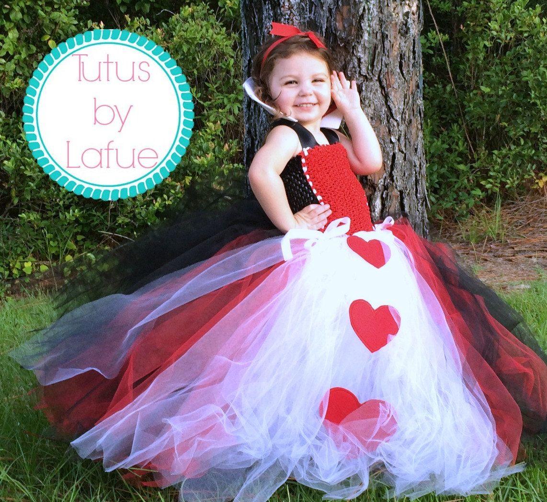Queen of Hearts/Alice in Wonderland Tutu Costume/Dress