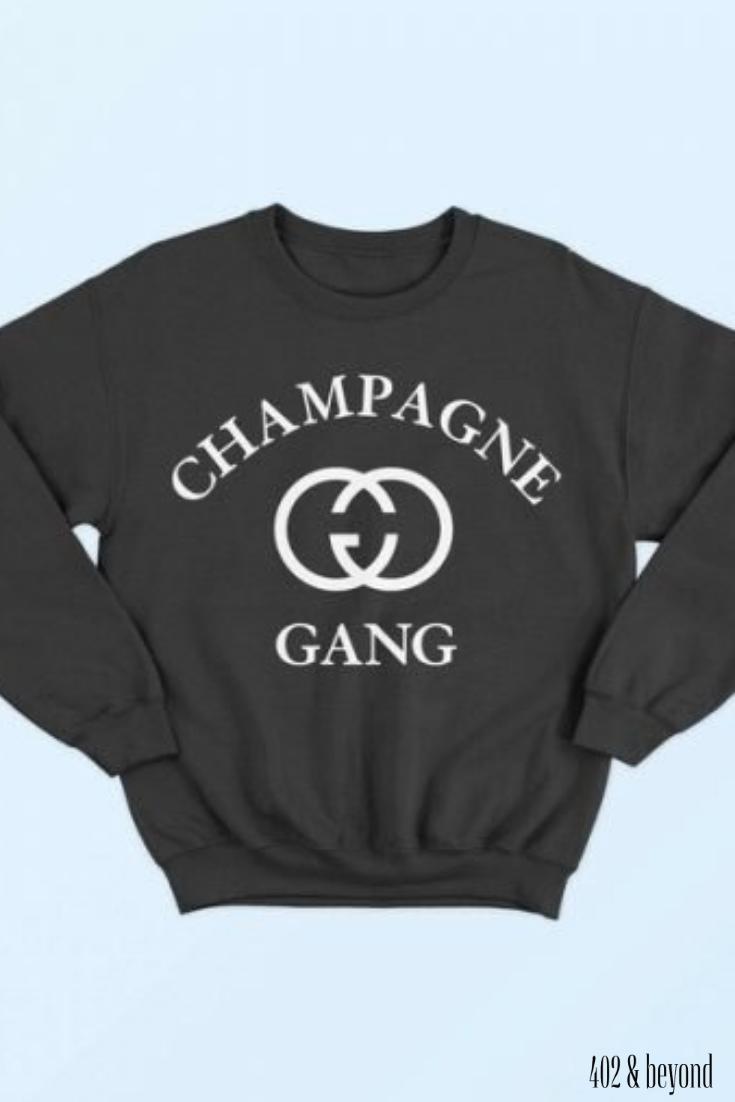 Champagne Gang Sweatshirt