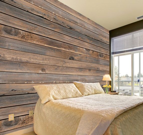 Rustic Wood Mural Adhesive wall mural adhesive wallpaper Living