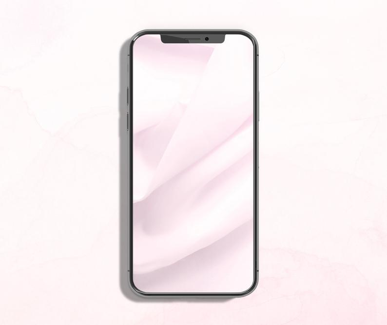 Pink Iphone Wallpaper Soft Pink Lock Screen Phone Background Etsy In 2020 Pink Iphone Iphone Iphone Wallpaper