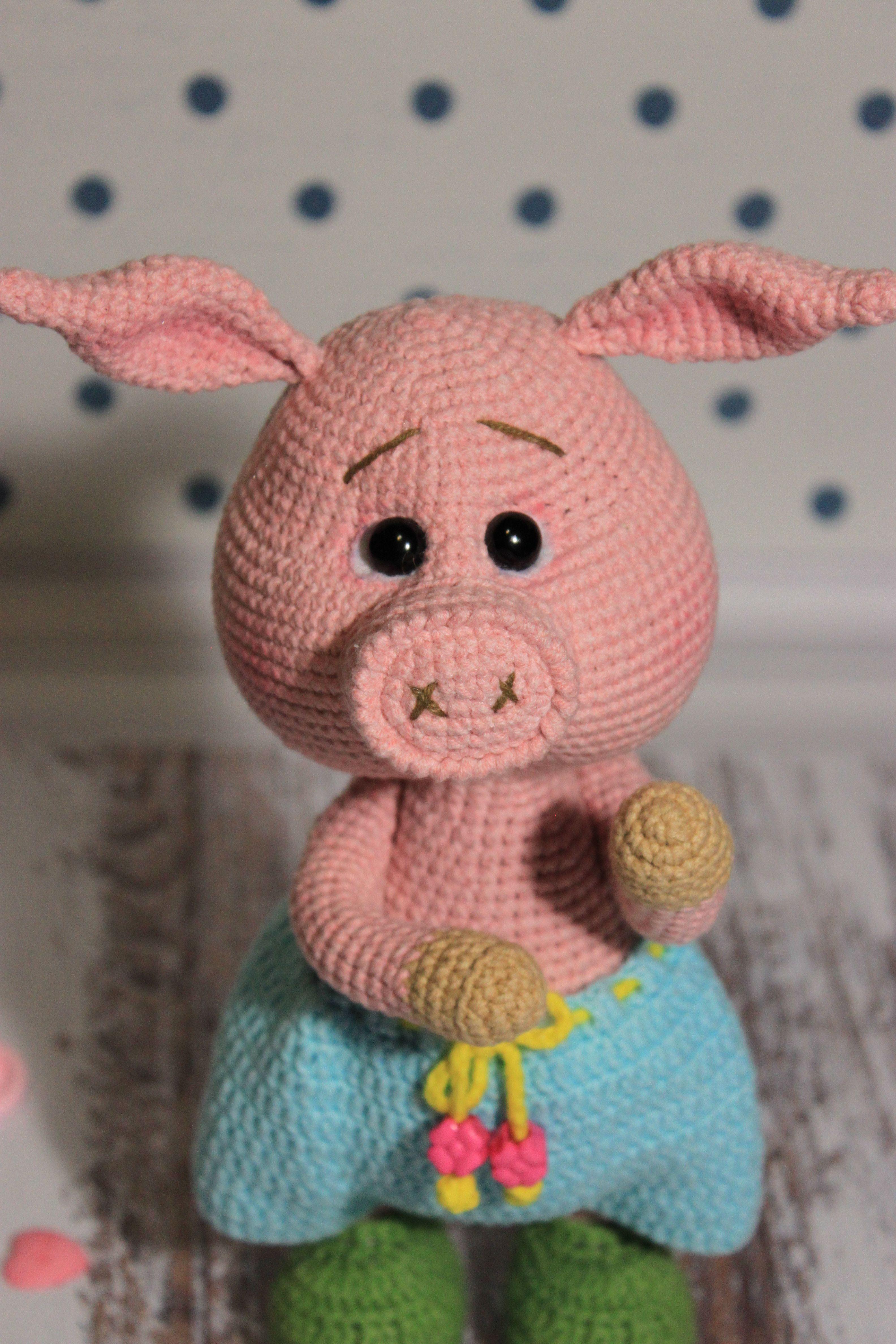 Amigurumi Piggy Free Pattern   4752x3168