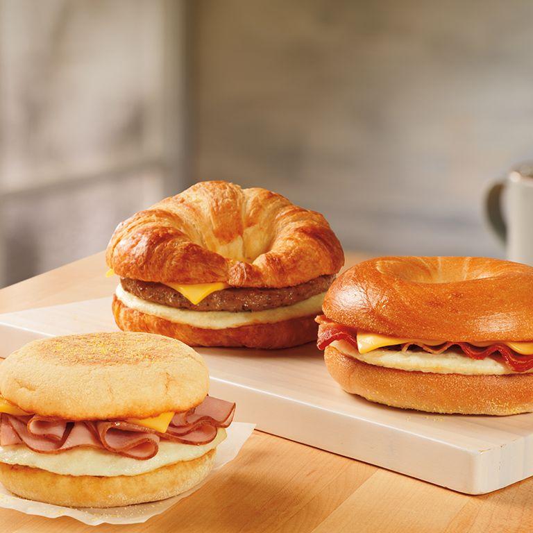 Image of dunkin donut sandwiches dunkin donuts breakfast