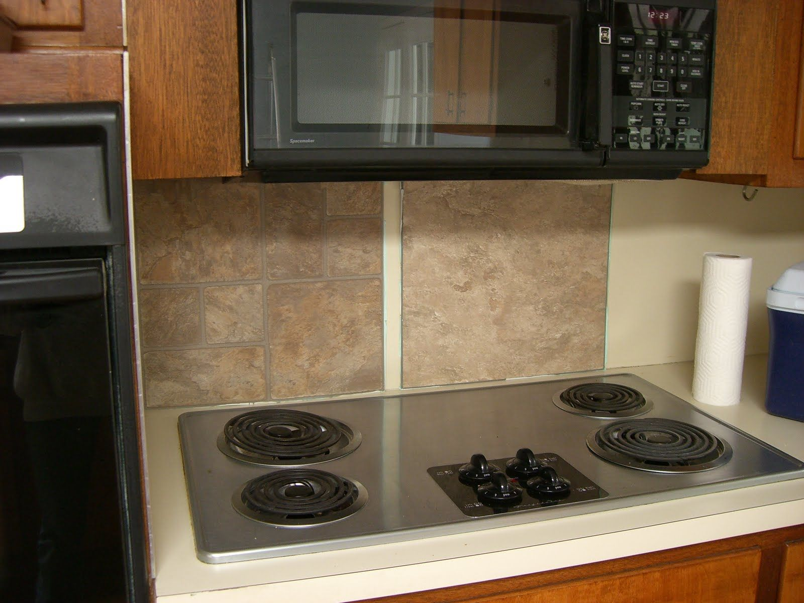 - How To - Make A Quick Easy Maintenance Backsplash? Click For
