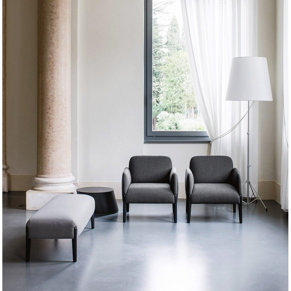 Join Lounge Chair Modern Living Room Design At Cassoni Living  # Muebles Sedutti