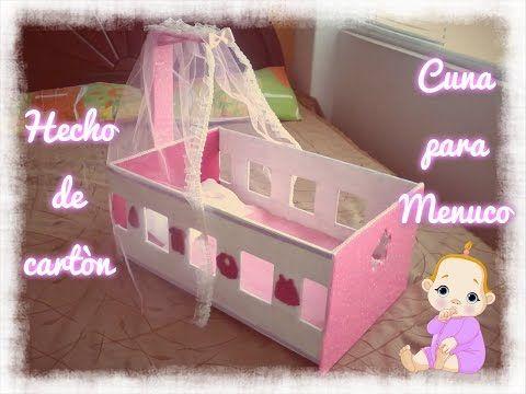 Cuna Para Nenuco Hecho En Carton Cunas Para Huevos Cunitas Para