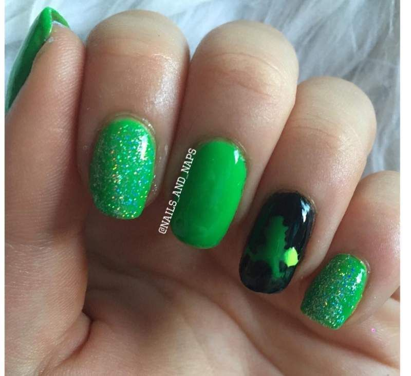 20 St Patrick S Day Nails Art Designs Ideas Inspo For St