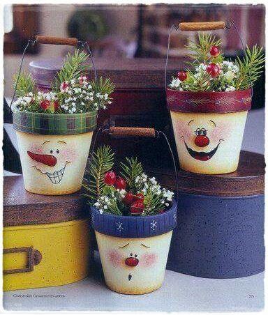 vaso para presente | navidad | pinterest | vasos, navidad y macetas