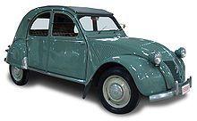 Citroën 2CV del 1949 - design Flaminio Bertoni