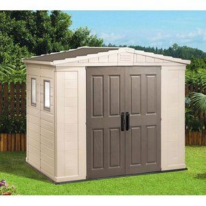 Keter Apex 8 X 6 Shed In Brown