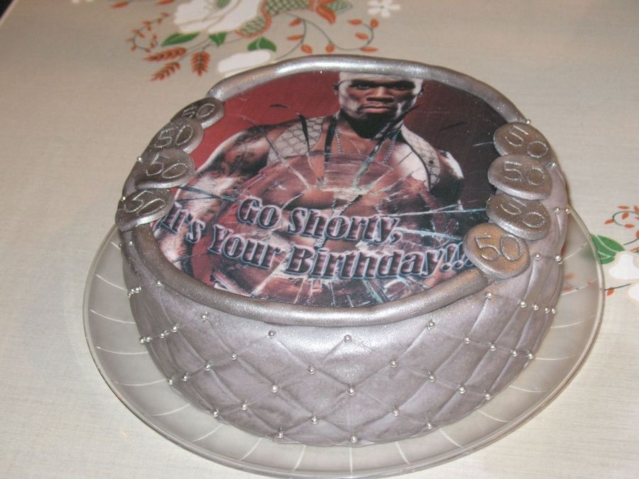 birthday cakes for women turning 50 50th Birthday 50 Cent cake