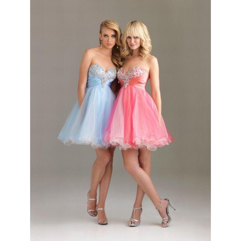 vestidos de fiesta cortos 2014 para adolescentes - Buscar con Google ...