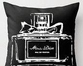Black Perfume Pillow