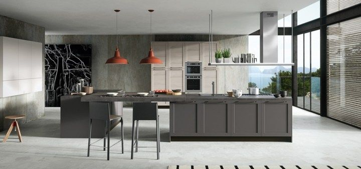 Küche moderne und zeitgemäße Dekoration in 50 Optionen