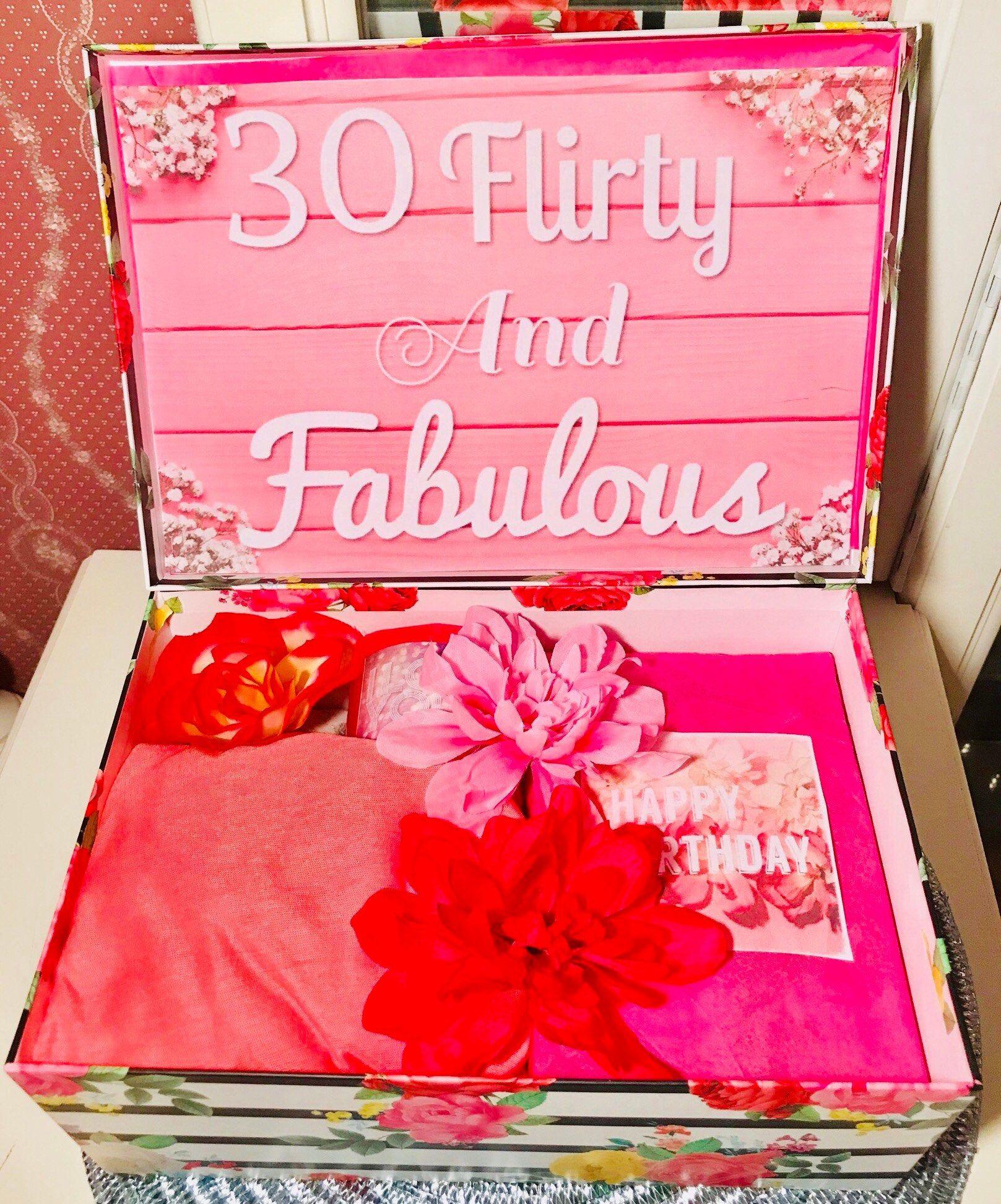 30 flirty and fabulous youarebeautifulbox 30th birthday