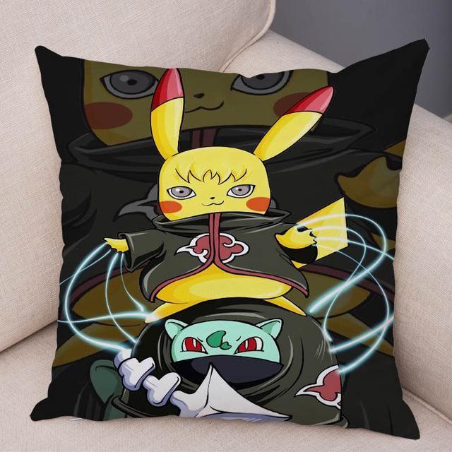 Funny Pikachu Cos Anime Naruto Pillow Cover - DariusShop