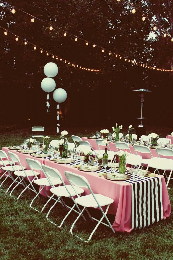 Jaymee's Amazing Outdoor Bridal Shower   the perfect ...