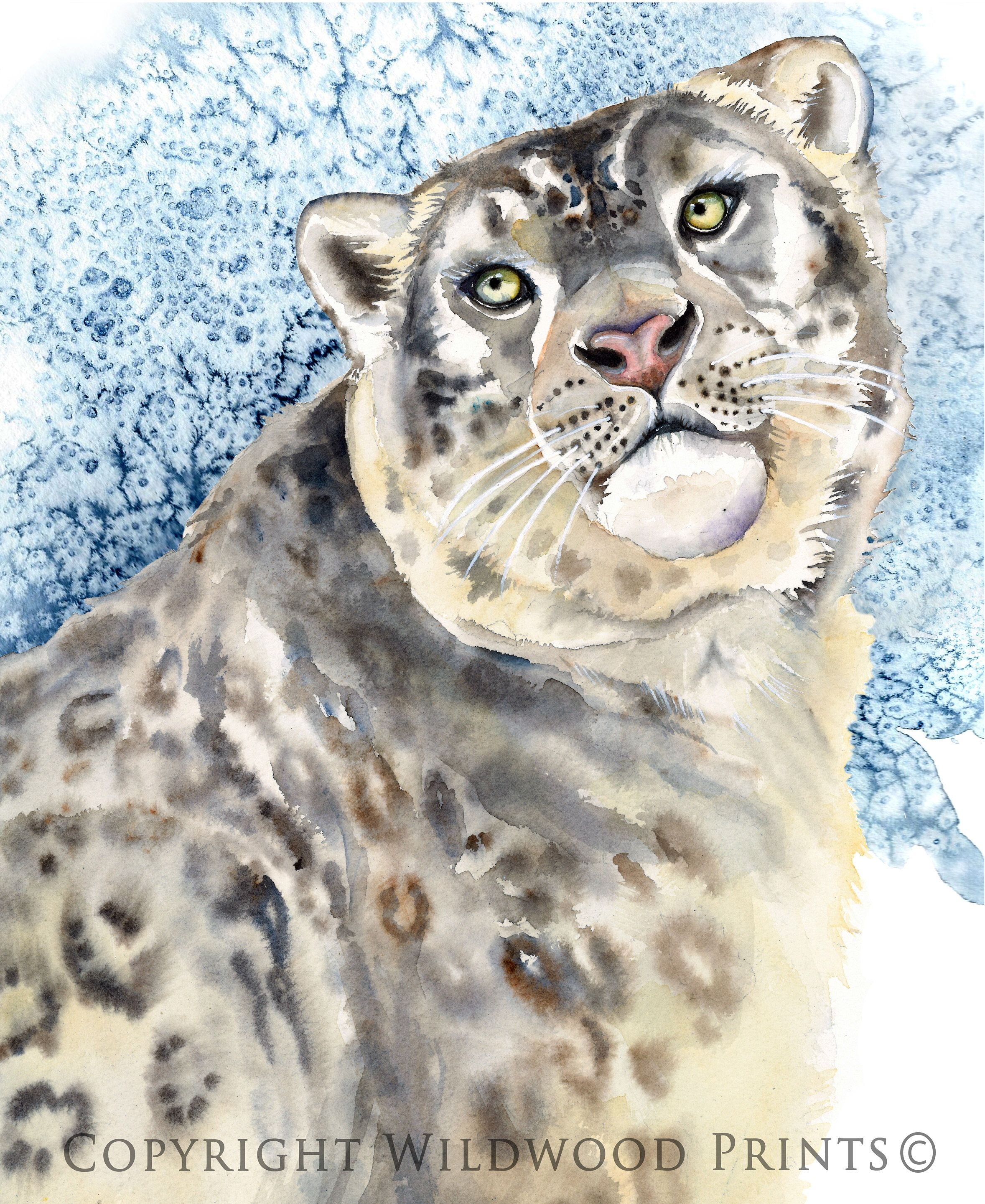 Excited To Share The Latest Addition To My Etsy Shop Snow Leopard