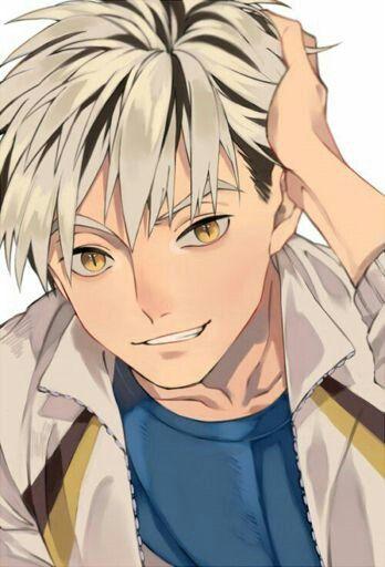 Bokuto-san looks cool with his hair down~! | Haikyuu anime
