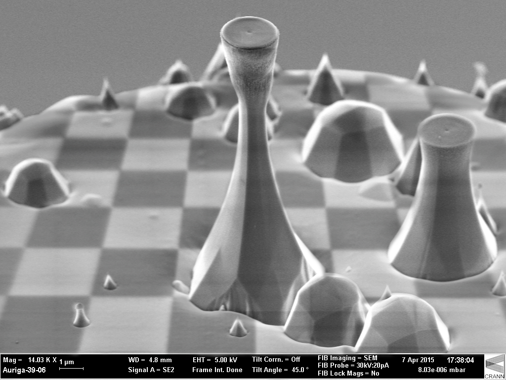 Diamond Chess By Victor Usov This Scanning Electron Microscope Shows The Flat Top Of A Diamond Single Cr Chess Queen Scanning Electron Microscope Chess Board