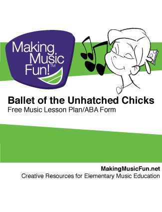 Ballet Of The Unhatched Chicks Aba Form Grade 1 2 Super Fun To