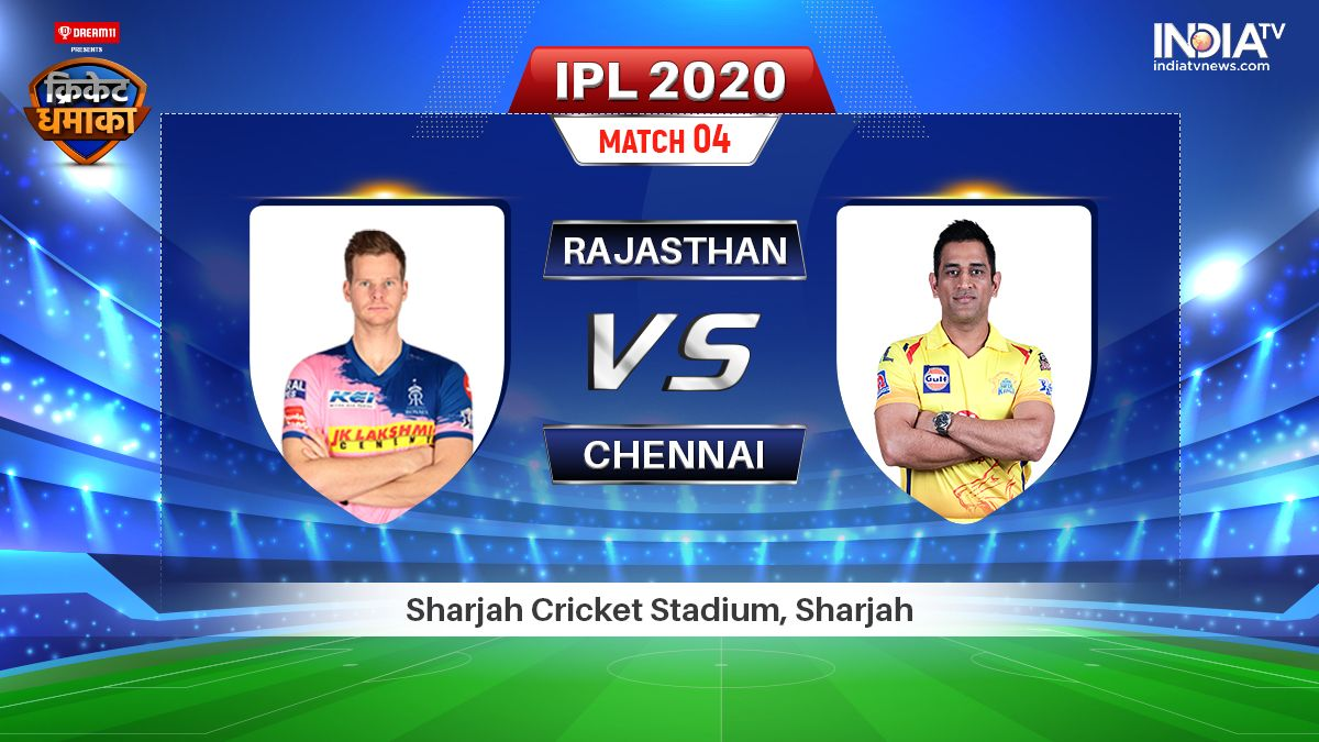 Rajasthan Royals vs Chennai Super Kings Live Streaming