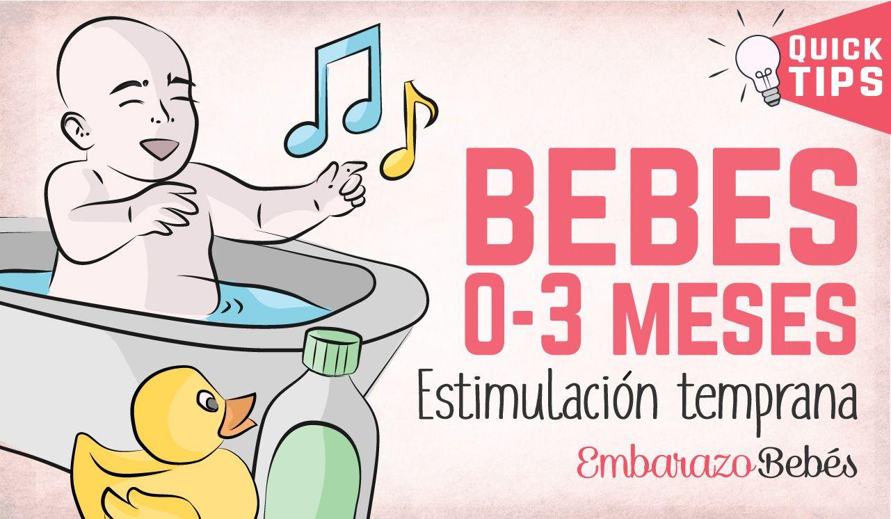 Estimulacion Temprana Para Bebes De 0 A 3 Meses Estimulacion Temprana Estimulacion Temprana Bebes Bebe 3 Meses