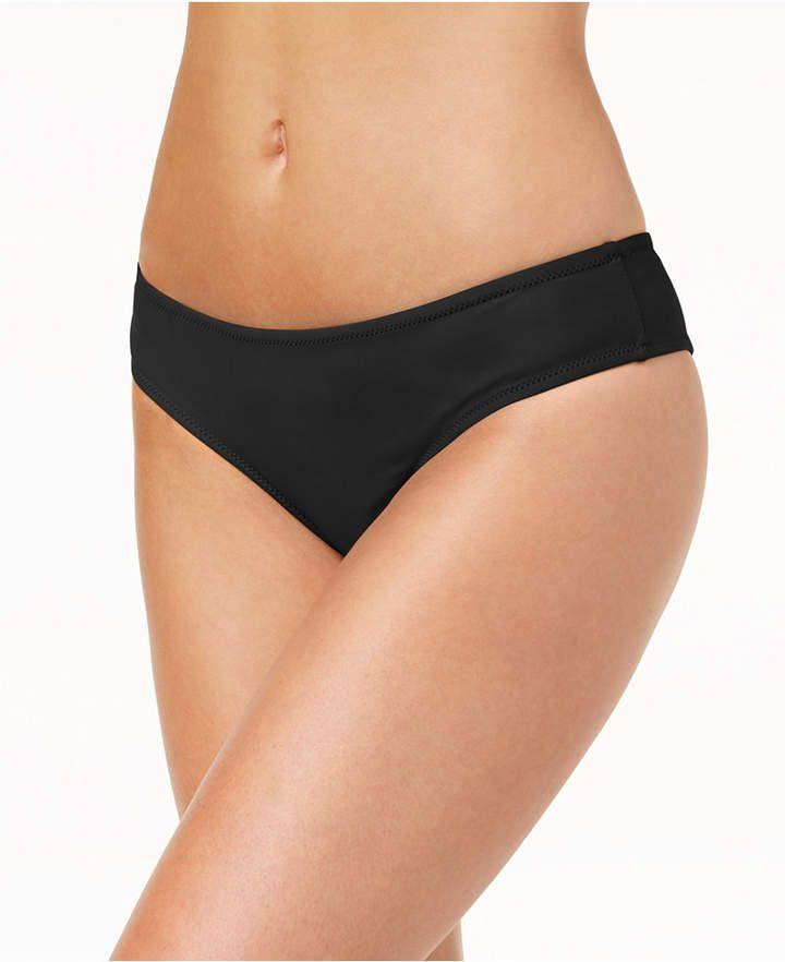 d6a03787a7d Volcom Juniors' Simply Solid Cheeky Bikini Bottoms Women's Swimsuit ...