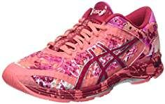 zapatillas asics rosas mujer