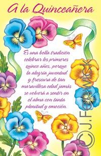 Quinceanera greeting cards spanish greeting cards pinterest 01015 quinceanera 15th spanish birthday bookmarktalkfo Gallery